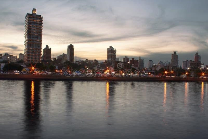 Die Skyline der posadass lizenzfreie stockbilder