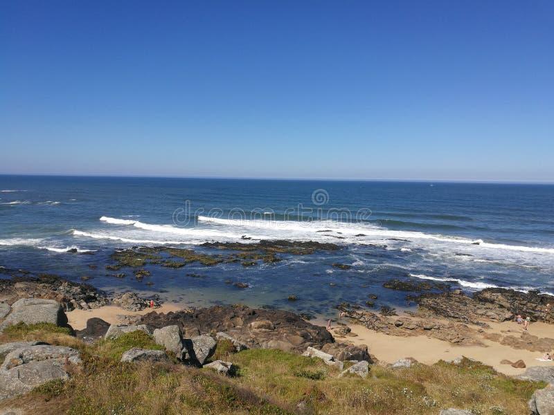 Die Sommertage in Portugal lizenzfreies stockfoto