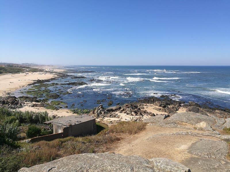 Die Sommertage in Portugal lizenzfreies stockbild