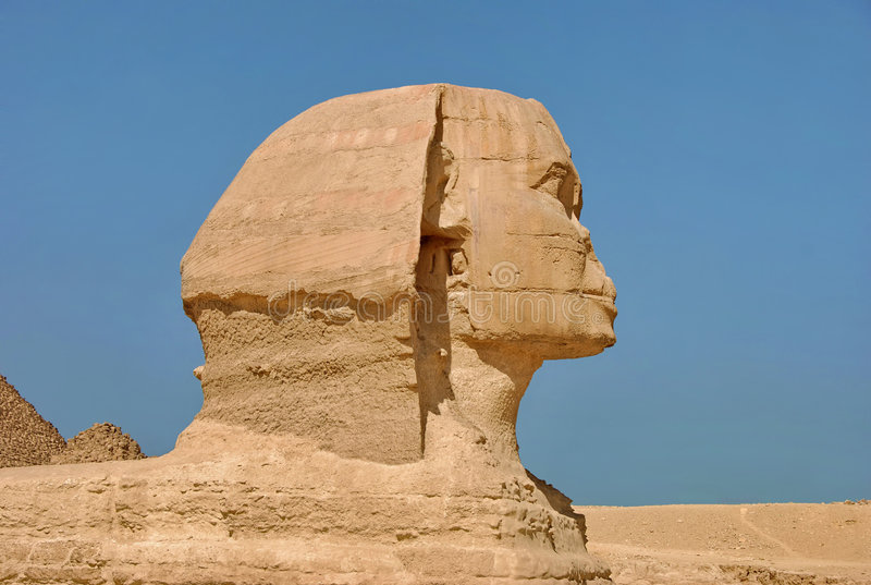 Die Sphinx stockfotos