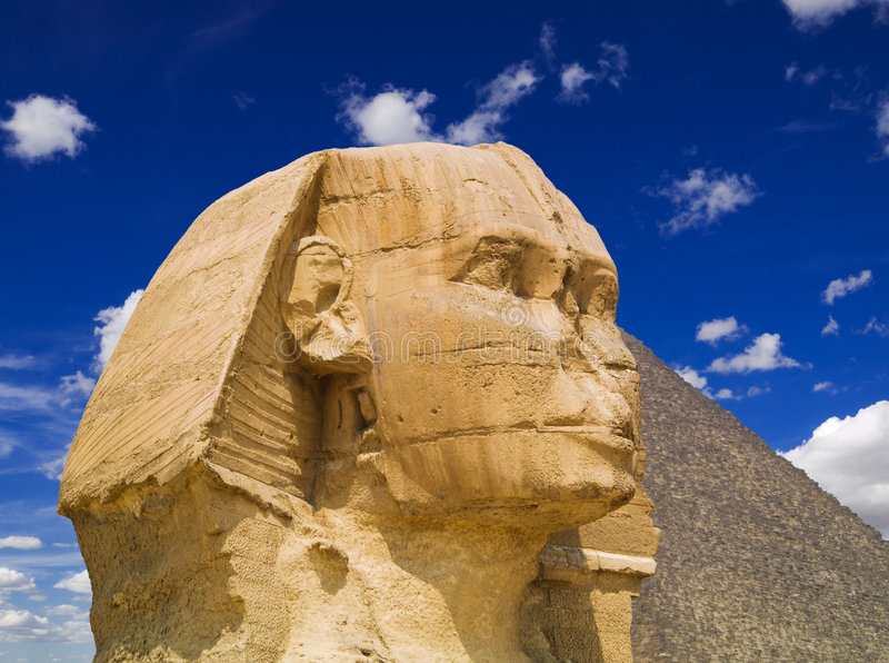 Die Sphinx stockbilder