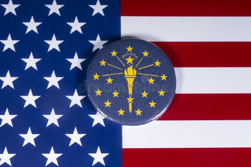 Die Staat Indiana in den USA lizenzfreie stockfotos