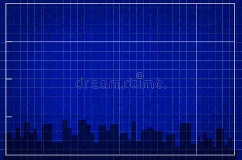 Die Stadt stock abbildung