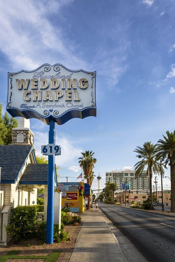 In die Stadt Las Vegas stockfotografie
