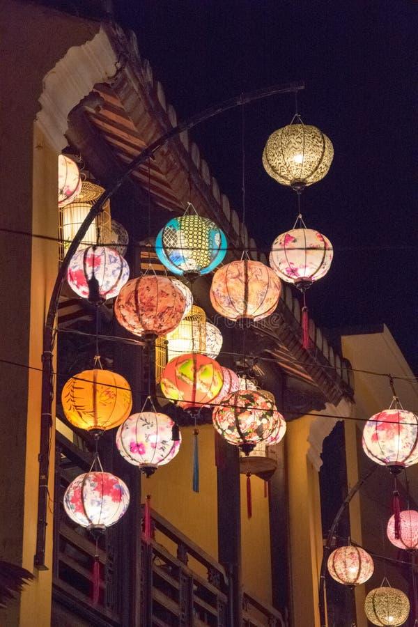 Die Stadt von Hoi An lizenzfreies stockbild