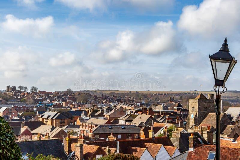 Die Stadt von Lewes lizenzfreies stockbild
