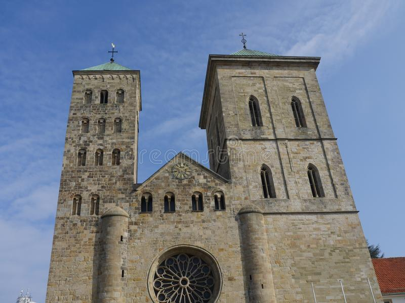 Die Stadt von osnabrueck in Deutschland lizenzfreies stockfoto