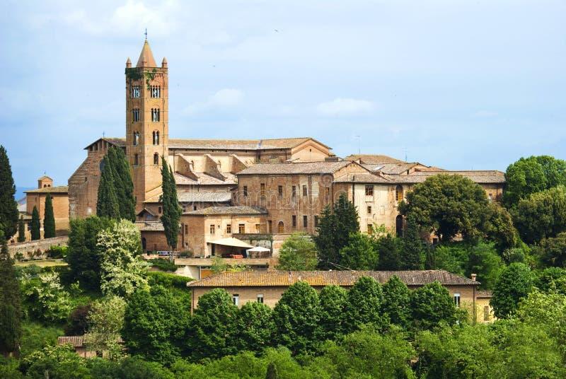 Die Stadt von Siena, Toskana lizenzfreies stockfoto