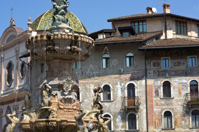 Die Stadt von Trento, Italien lizenzfreies stockfoto