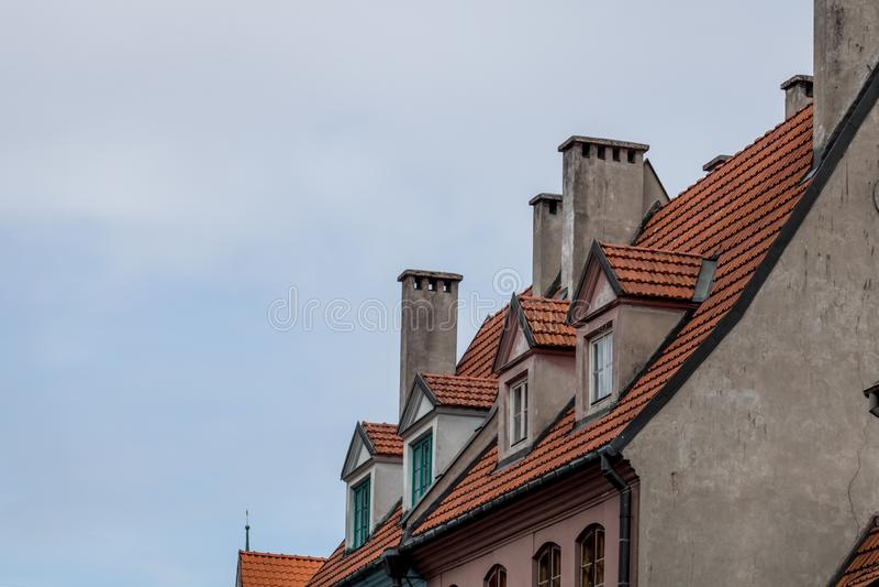 Die Stadtlandschaft Riga, Lettland Reise in Europa stockfoto
