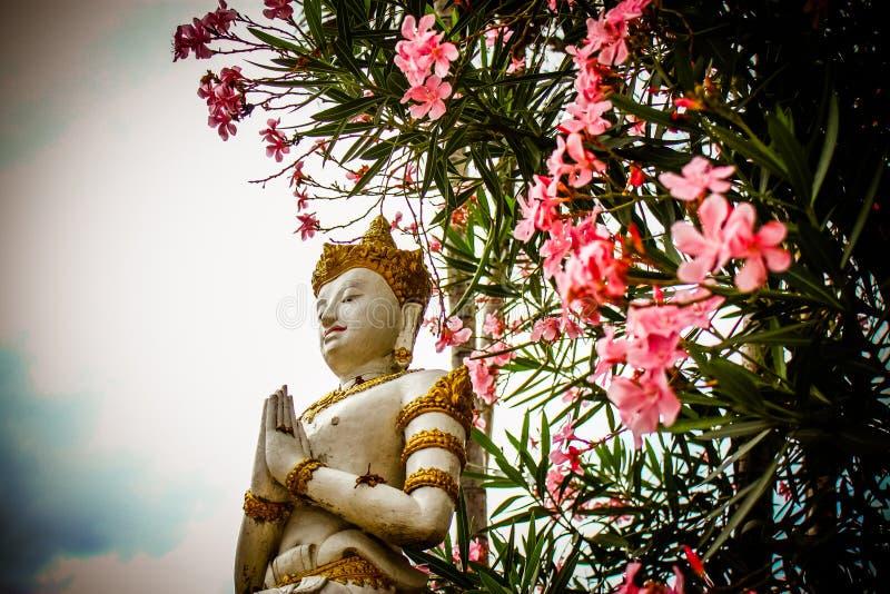 Die Statue von Buddhismus lizenzfreies stockfoto