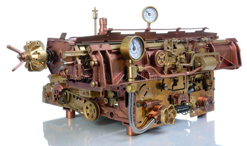 Die steampunk Vorrichtung. lizenzfreie stockfotos