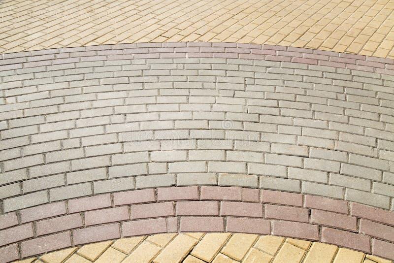 Die Steinblöcke sind in Form rechteckig stockfotografie