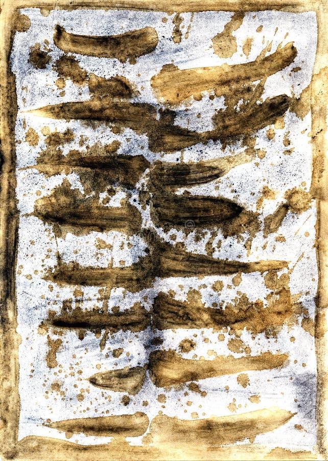 Die stilisiert Struktur von einem alten Papier lizenzfreie stockfotografie