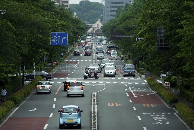 Die Straße stockbilder