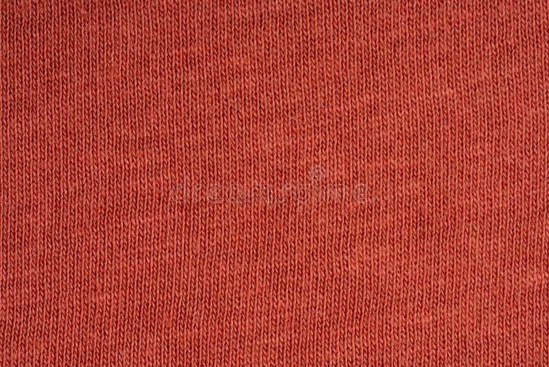 Die Struktur des Baumwollgewebees Rot, Rosa, blau, braun lizenzfreie stockfotografie