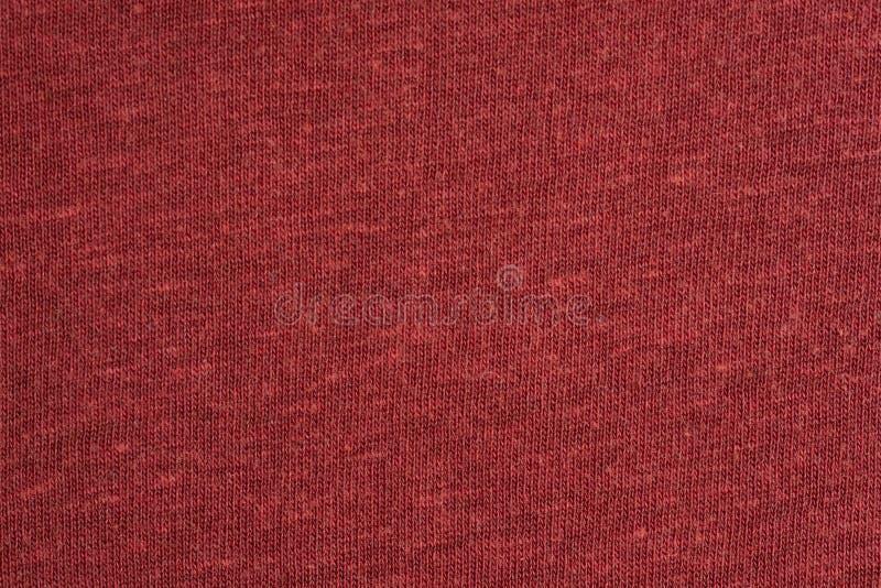 Die Struktur des Baumwollgewebees Rot, Rosa, blau, braun lizenzfreie stockfotos