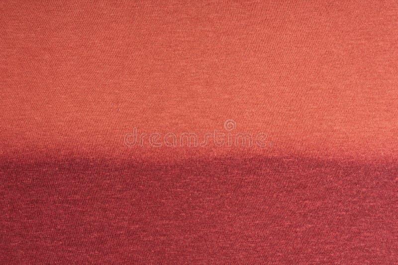 Die Struktur des Baumwollgewebees Rot, Rosa, blau, braun steigung stockfotografie
