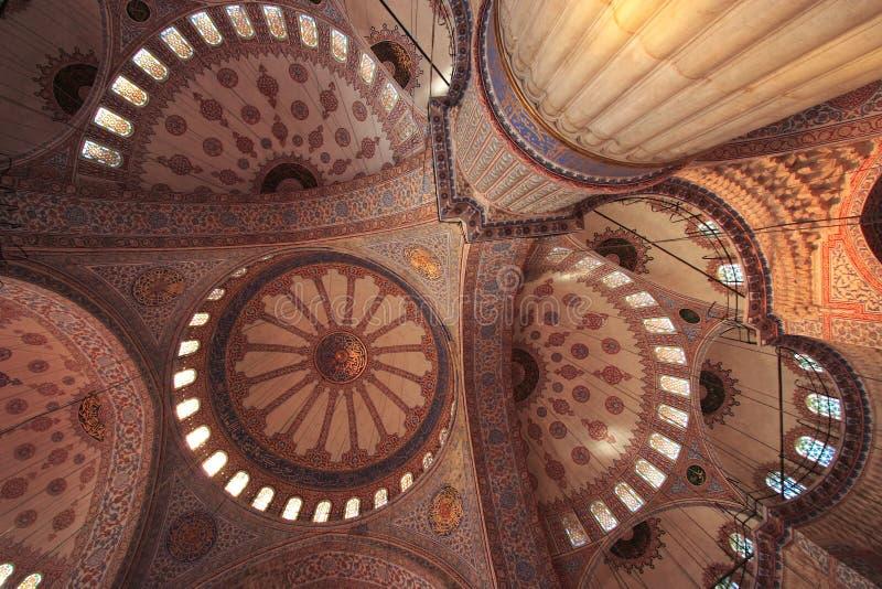 Die Sultan-Ahmed-Moschee - blaue Moschee von Istanbul stockfotos