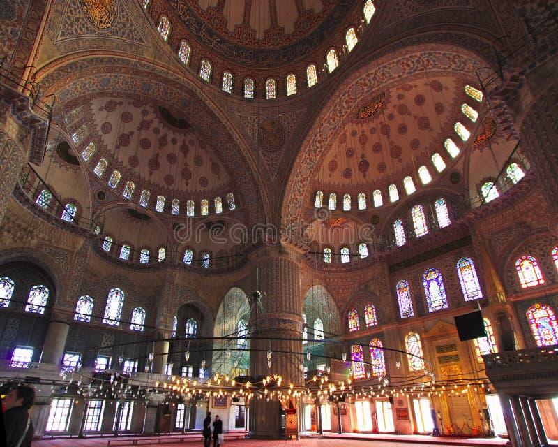 Die Sultan-Ahmed-Moschee - blaue Moschee von Istanbul lizenzfreies stockbild