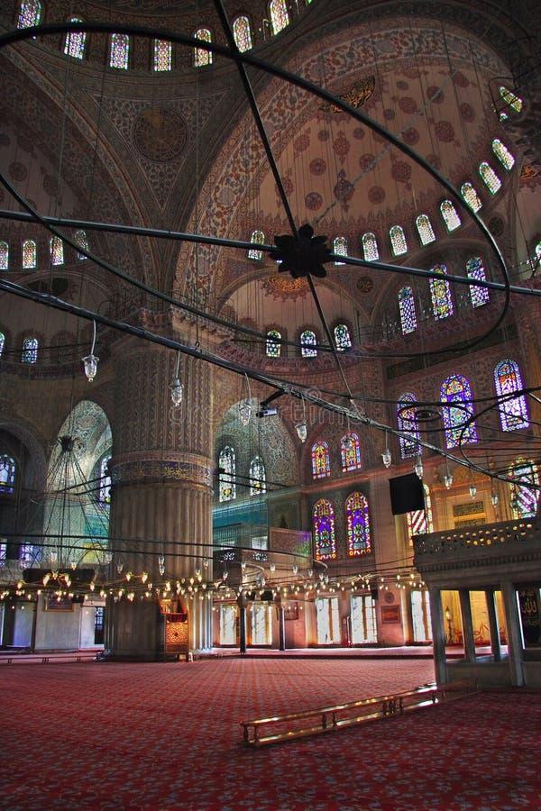 Die Sultan-Ahmed-Moschee - blaue Moschee von Istanbul stockbild