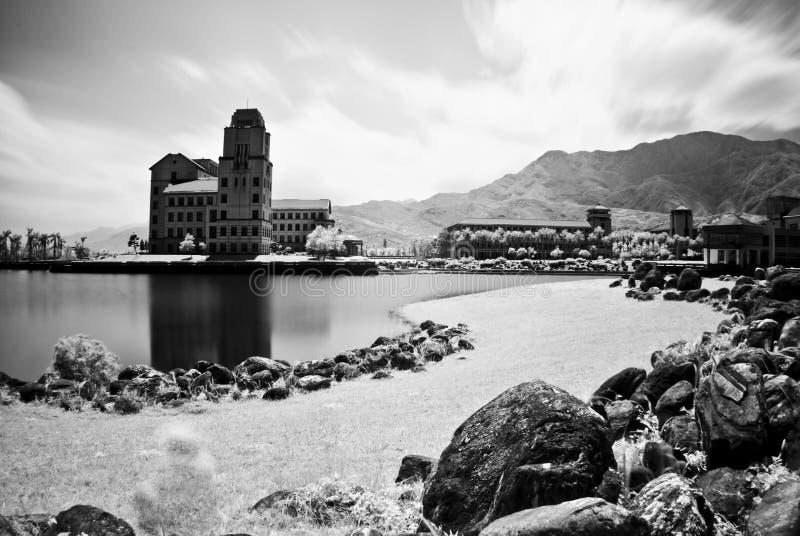Die Szenen des fashing Kanals in Taiwan lizenzfreie stockbilder