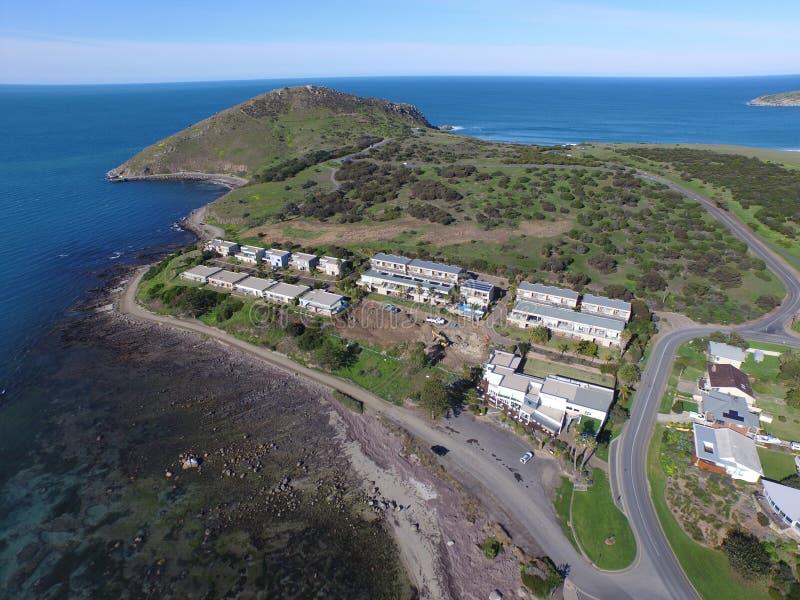 Die Täuschung an der Treffen-Bucht Victor Harbor lizenzfreie stockfotos