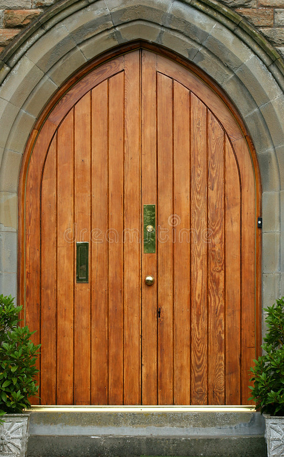 Die Tür   lizenzfreie stockfotos