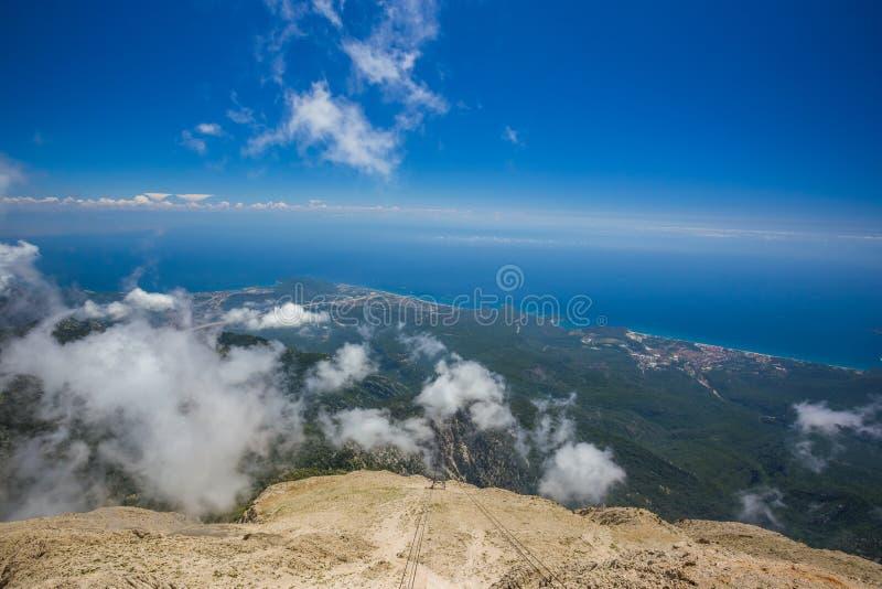Die Türkei, Berg Tahtali stockbild