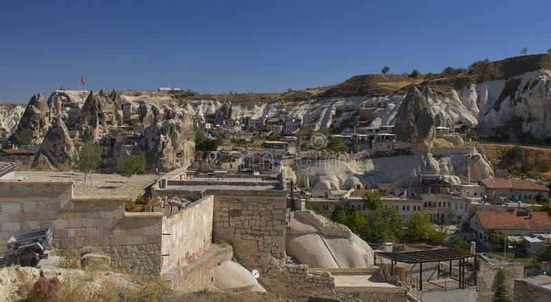 Die Türkei, Cappadocia, Felsen, Landschaft, Reise, Anatolien, goreme, Berg stockfotografie