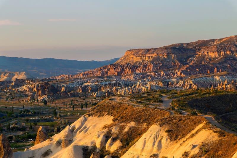 Die Türkei Freilichtmuseum, Nationalpark Goreme stockfoto