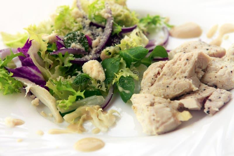 Die Türkei mit Gemüse stockfoto