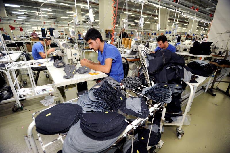 Die Türkei-Textilsektor stockbilder