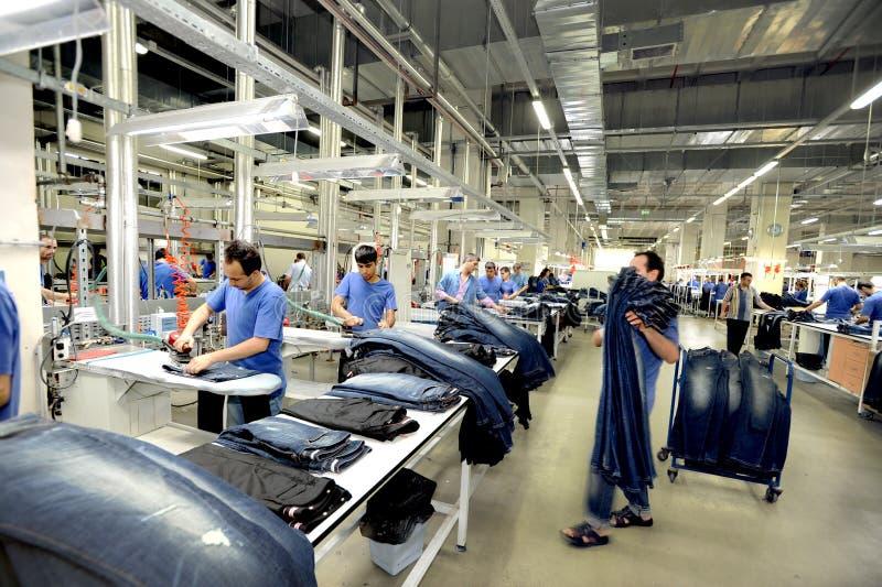 Die Türkei-Textilsektor lizenzfreie stockfotografie