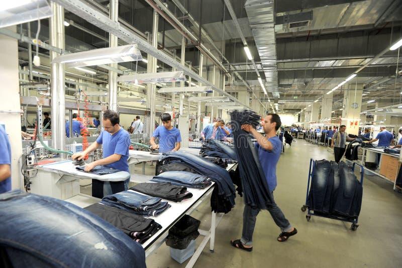 Die Türkei-Textilsektor stockfotografie