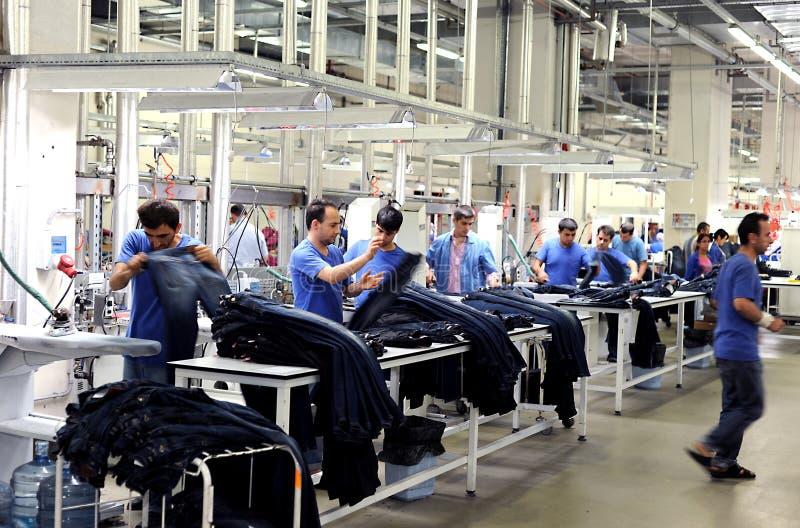 Die Türkei-Textilsektor stockfoto