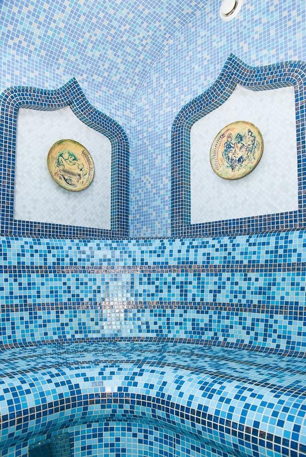 Die türkische Sauna stockfotos