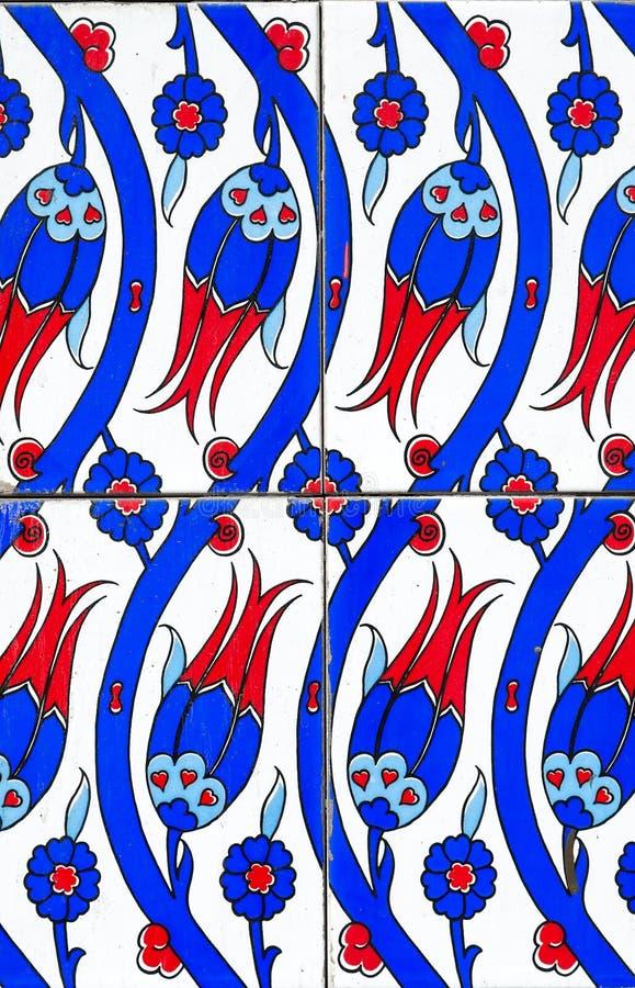 Die türkischen Keramikfliesen stockbild
