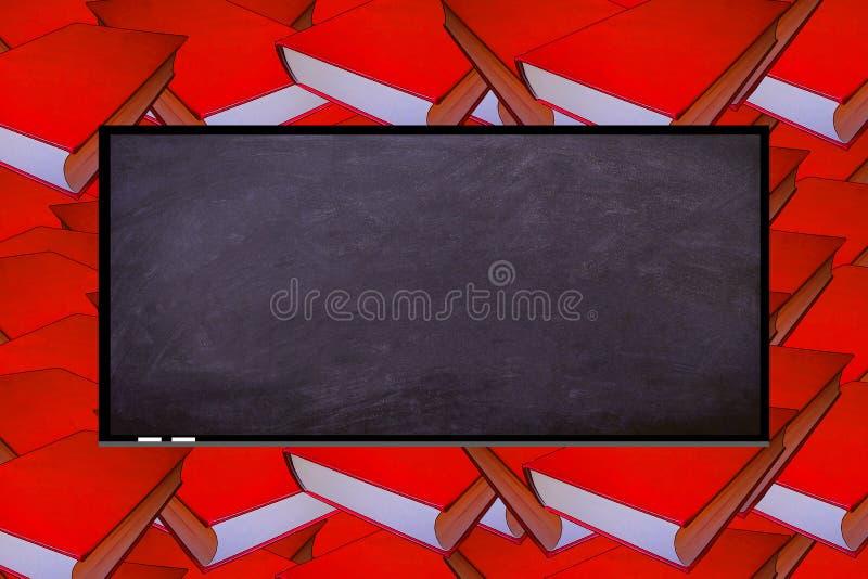 Die Tafel in einer Klasse Schule stockfotografie