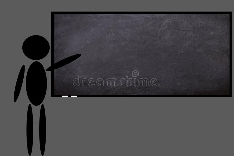 Die Tafel in einer Klasse Schule stockfotos