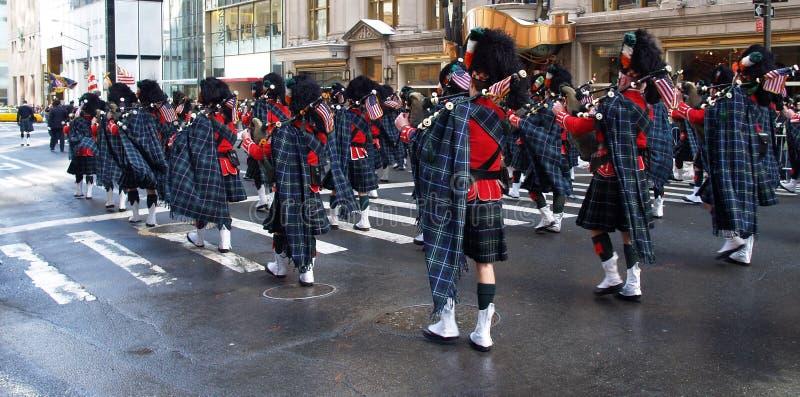 Die Tagesparade Weltgrößte Str.-Patrick in New York City lizenzfreies stockbild