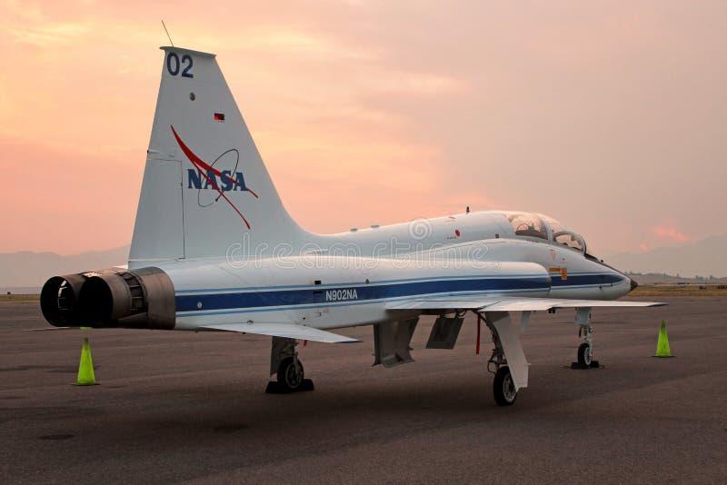 Die Talon T-38 NASA - Astronauten-Strahlen-Kursleiter stockfotos