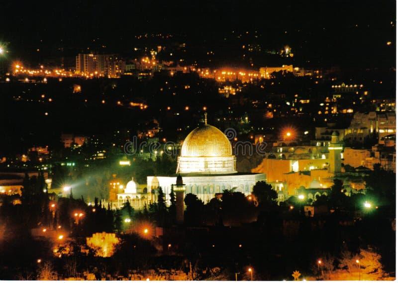 Die Tempel-Montierung - Jerusalem lizenzfreie stockfotos
