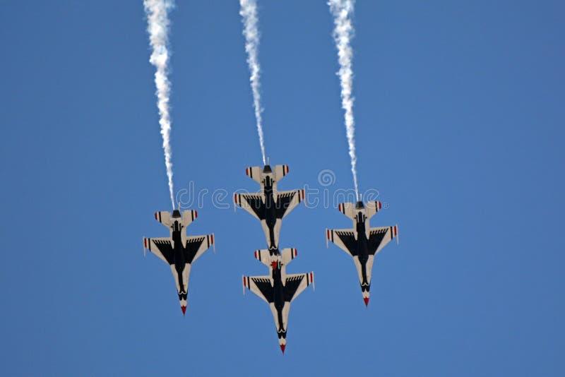 Die Thunderbirds stockbilder
