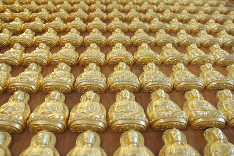 Die Tiefe des Buddha-Bildes stockfoto