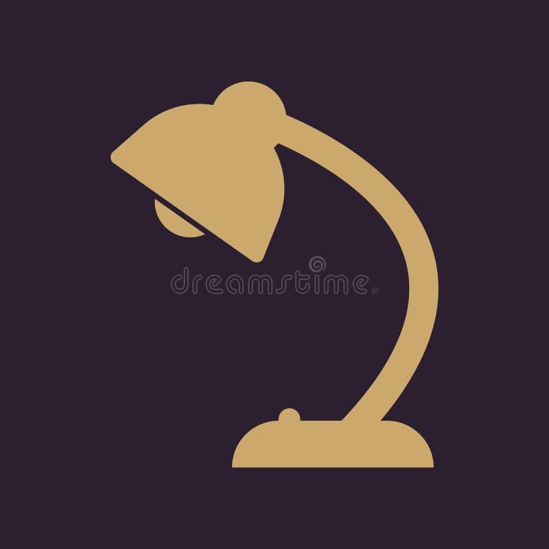 Die Tischlampeikone Lesung-Lampe Und Beleuchtung, Beleuchtung ...