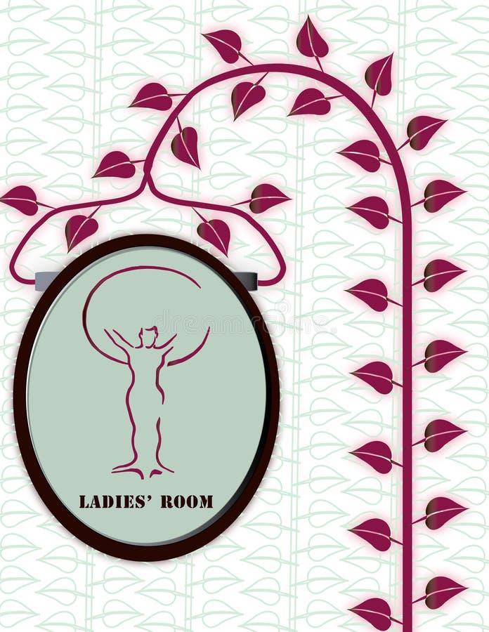 Die Toilettenartikel der organischen Frauen lizenzfreies stockbild