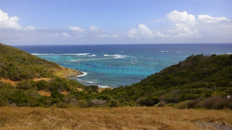Die Trauminsel von St. Vincent und die Grenadinen stockbild