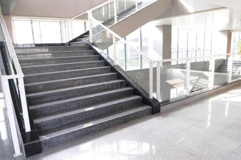 Die Treppenhausjobsteps lizenzfreies stockbild