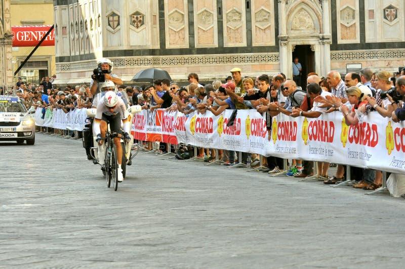 Die 2013 UCI-Straßen-Weltmeisterschaften in Florenz, Toskana, Italien stockfotos